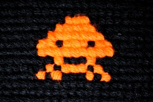detail space invader